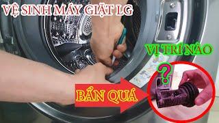 HDSD Vệ Sinh Máy Giặt LG 2 Chế Độ Giặt và Sấy và Ngồi Xem Máy Giặt Hoạt Động NTN