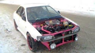 Первый выезд после сборки  / Test Subaru Impreza GC8 STI (SWAP EJ207 GDB 04)