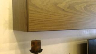 Стенка под телевизор в гостиную на заказ(ТВ стенка из натурального шпона выполнена на заказ компанией