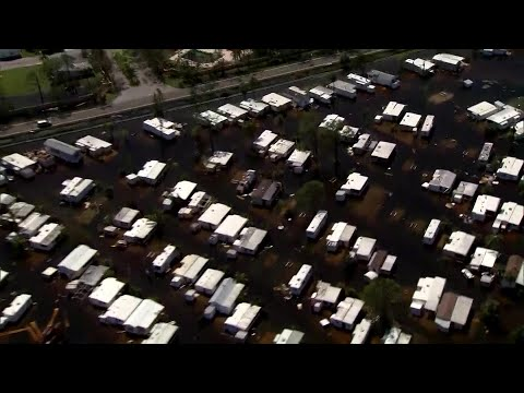 From The Air: Parts Of Marco Island Look Like Disaster Zone