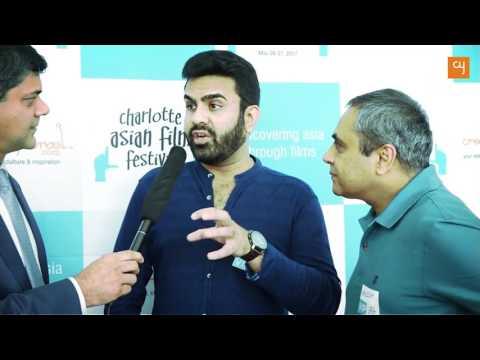 Manish Patel & Aashish Shah of team SAMEER at Charlotte Asian Film Festival