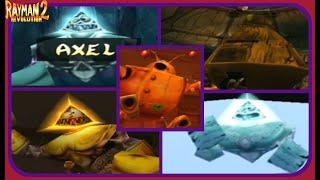 Rayman Revolution: All Boss Encounters-Perfect