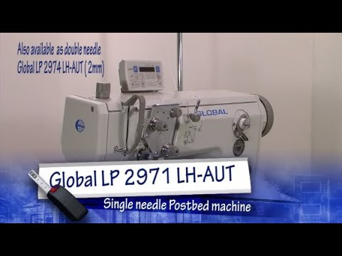 Global LP2971 - Single Needle Lockstitch Postbed Sewing Machine for the shoe industry