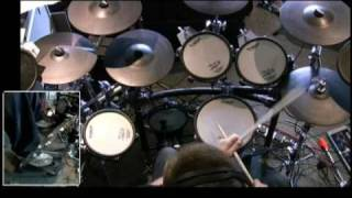 Trinity Guildhall Drumset Grade 3 - Funk 1 (Lefty Flip)