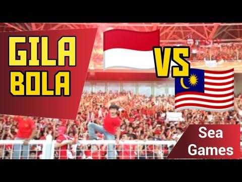 Gila Bola Indonesia vs Malaysia Seagames
