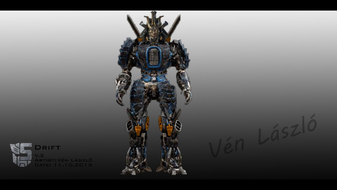Transformers 5 drift concept art fan made youtube - Autobot drift transformers 5 ...