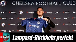Frank Lampard ist neuer Trainer des FC Chelsea