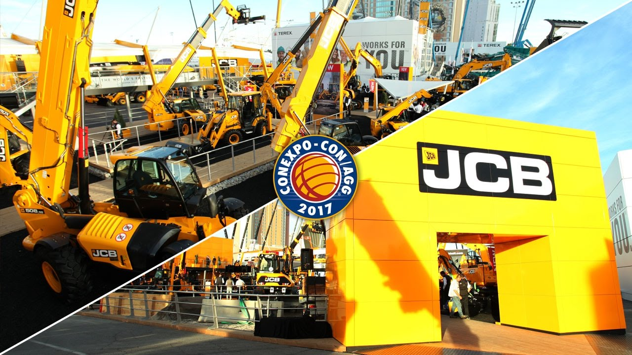 JCB at Conexpo 2017 Highlights
