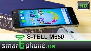 S-TELL M650 - Обзор смартфона
