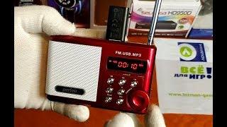 Обзор | Портативный радиоприемник Perfeo Sound Ranger (красный) | lozmanGames