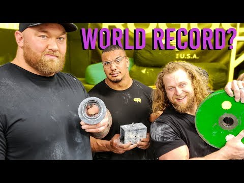 World's Stongest Man = Strongest Grip Strength? Thor & Larry Wheels