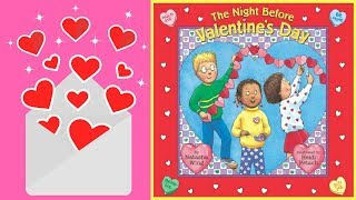 The Night Before Valentine's Day Book by Natasha Wing - Stories for Kids - Children's Books
