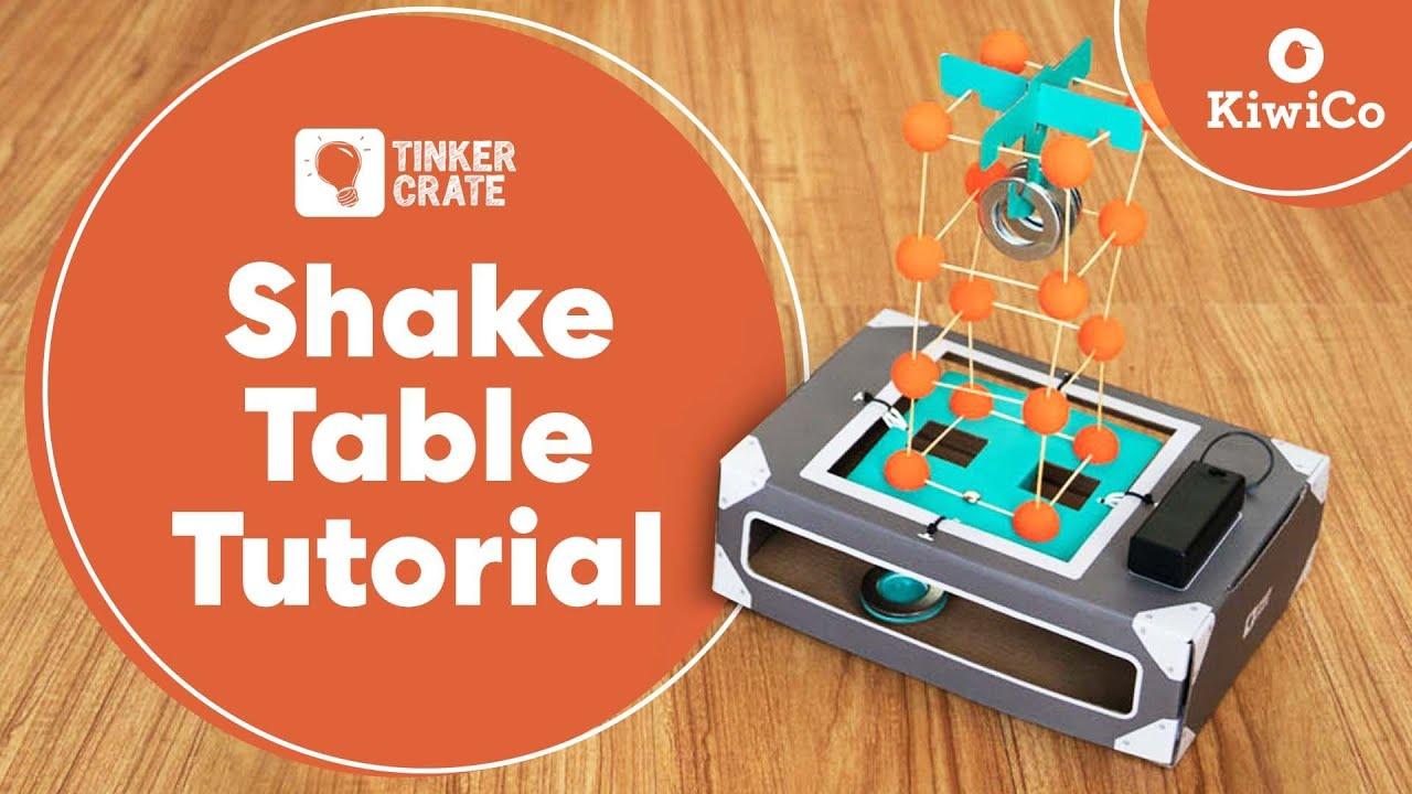 make an earthquake shake table - youtube