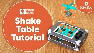 Make an Earthquake Shake Table