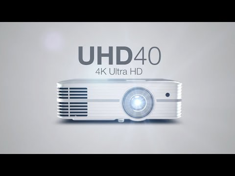 Optoma UHD 40 - Videoproiettore 4K entry level in prova