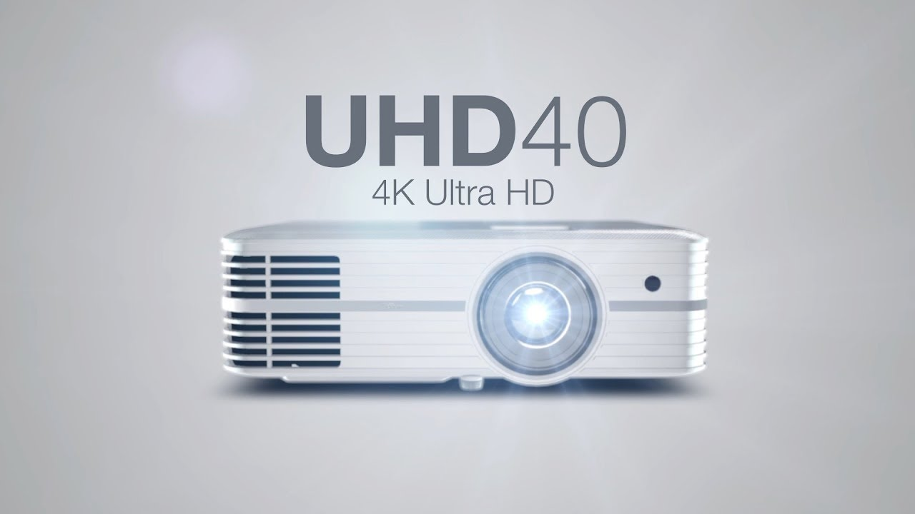 UHD40 True to life detail - 4K Ultra HD projector - Optoma