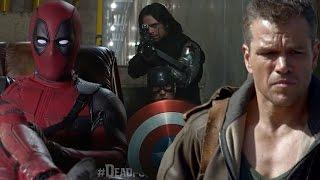 Best Super Bowl 50 Game Day Trailers - Jason Bourne, Captain America Civil War & More