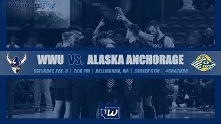 MBB | WWU vs. Alaska Anchorage (2/8, 7:00 pm)