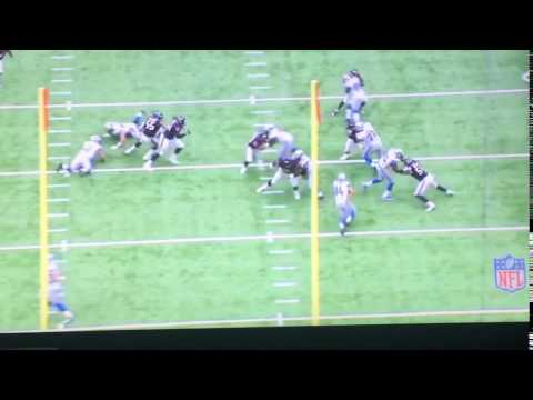 Zach Zenner Misses Big Running Lane
