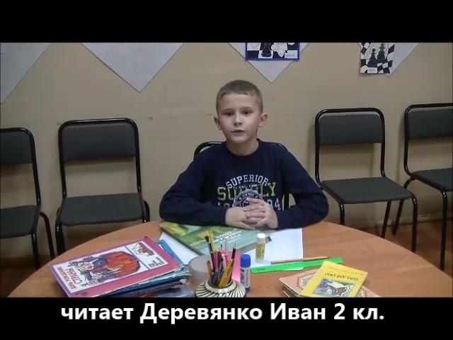 Изображение предпросмотра прочтения – ИванДеревянко читает произведение «Что ты сделал хорошего» (Татьяничева Людмила)