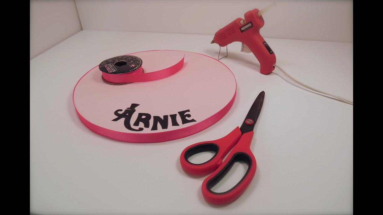 Icing A Cake Board