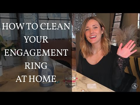 How To Clean Your Engagement Ring From Home