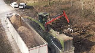 PTH 1400/1000 ALL ROAD Pezzolato selfpropelled drum wood chipper, Volvo PENTA TAD 700 Hp engine