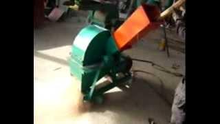 wood sawdust machine wood crusher wood shredder wood pulverizer with small capacity