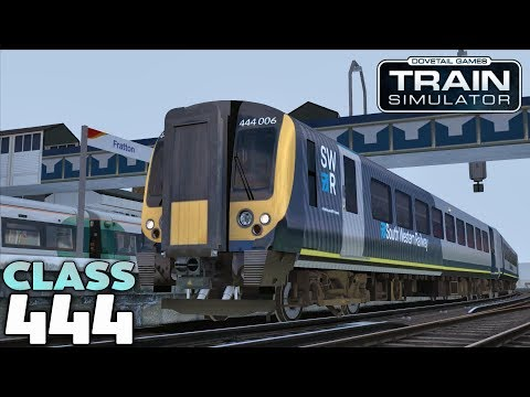 Train Simulator 2018 - SWR Class 444: Guildford to Portsmouth Harbour