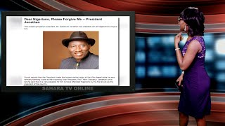 Keeping It Real With Adeola - 167 (President Jonathan Begs For Forgiveness)