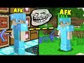 STEALING AN AFK PLAYER FROM HIS BASE! | Minecraft FACTIONS #839