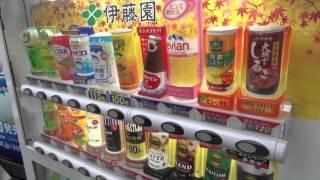 나홀로 일본여행 2일차 #3 자판기 천국 일본