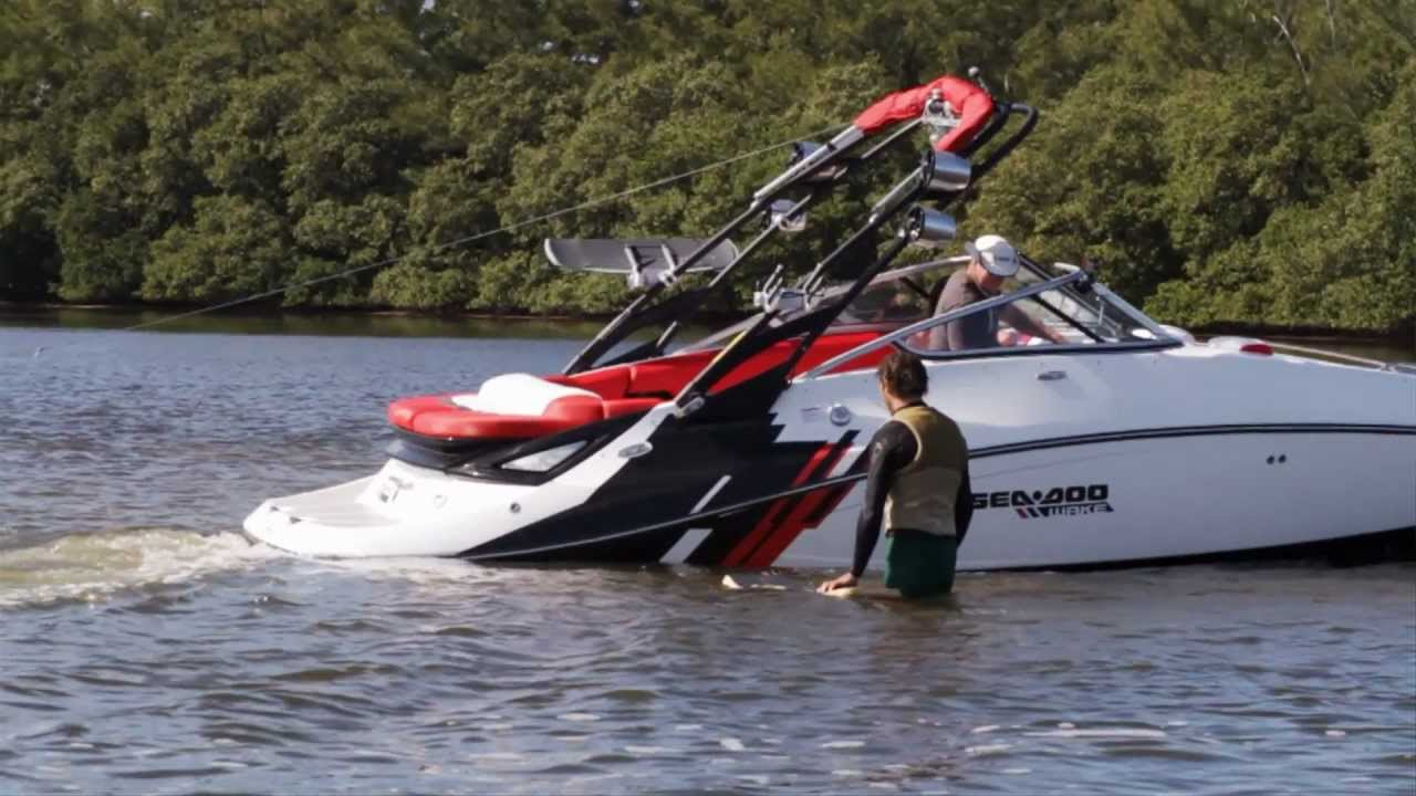 2012 sea doo doo it wakeskate instructional wake to wake toe side rh youtube com