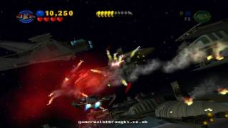 Lego star wars walkthrough - Battle over coruscant