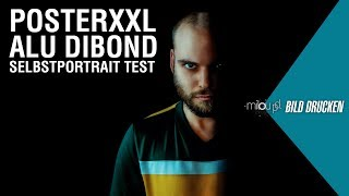 PosterXXL Alu Dibond Test - Low Key Selbstportrait | Milou PD Bild drucken