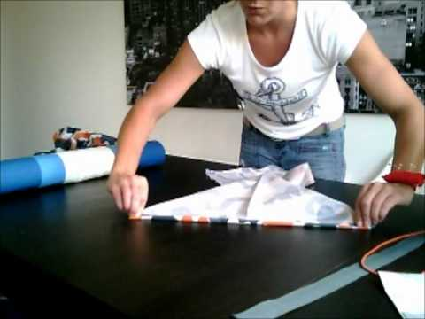 How To Make A Yoga Mat Bag Youtube