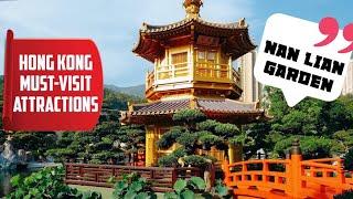 【Travel】Paradise In The Heart Of The City? A Beautiful Oasis - Nan Lian Garden / 南蓮園池 / 打卡景點 /4K