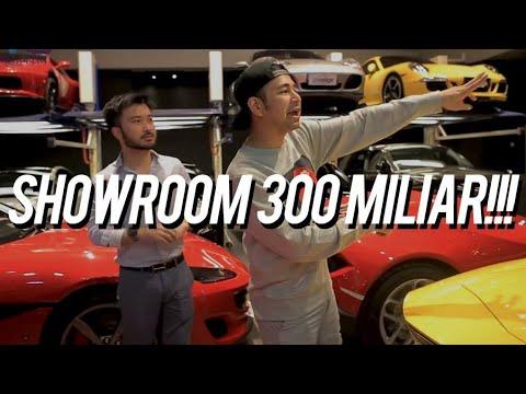 Gilaaaa!! Bocorin Isi Showroom Sports Car 300 Milyar