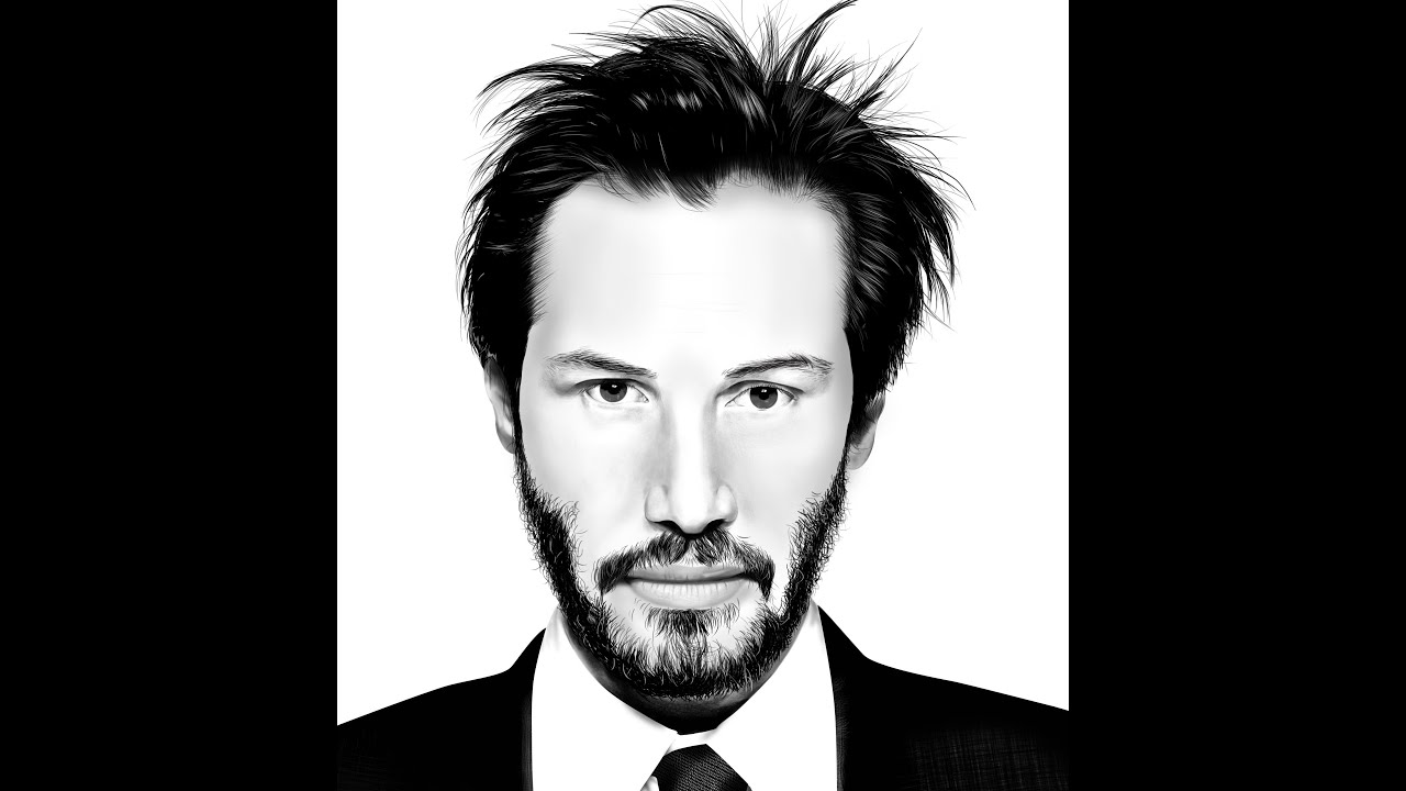 keanu reeves speed painting youtube. Black Bedroom Furniture Sets. Home Design Ideas