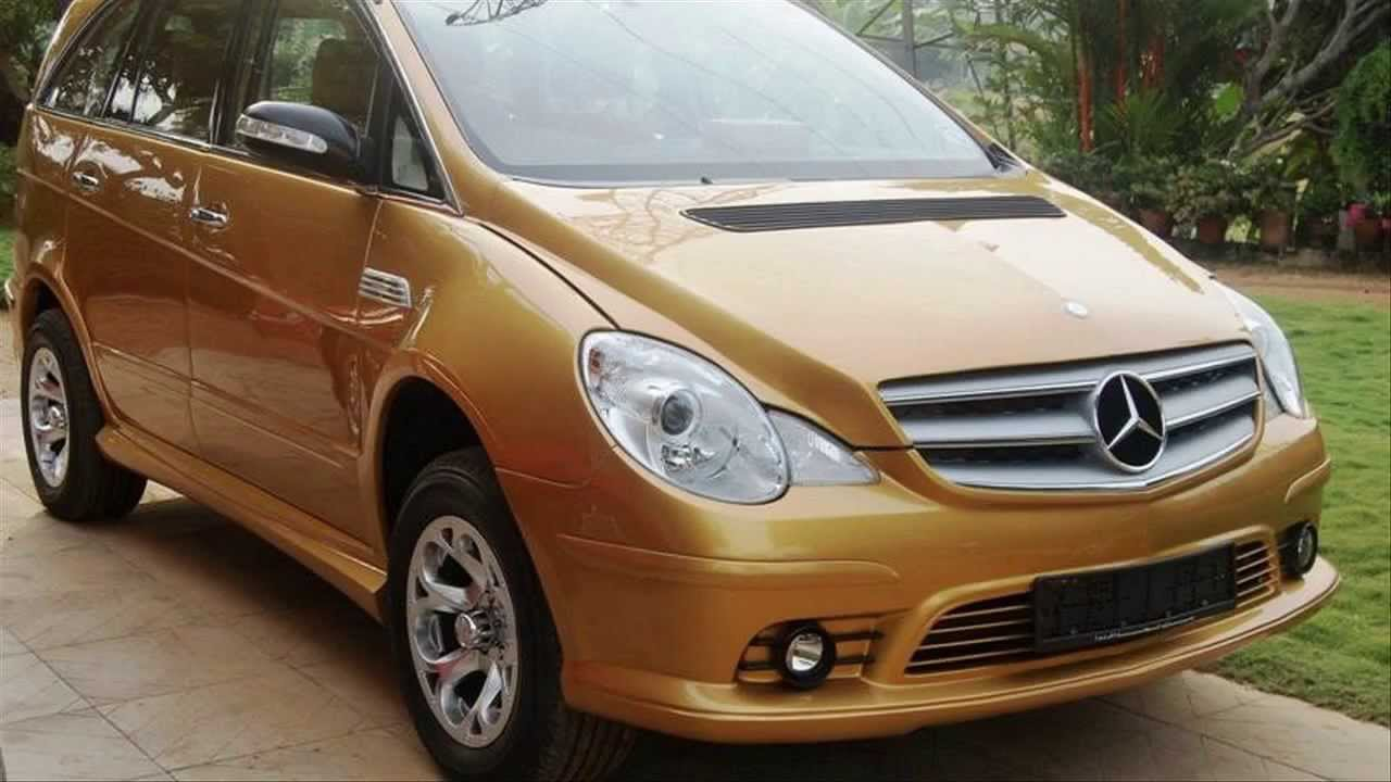 Toyota Innova Modified To Mercedesbenz R500 Youtube