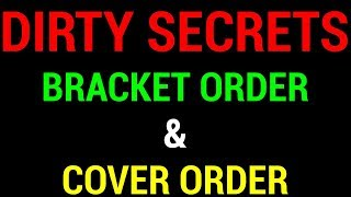 🔴 Cover Order and Bracket Order - Stop Loss Hunting | Live Q&A with Nitin Bhatia (Hindi)
