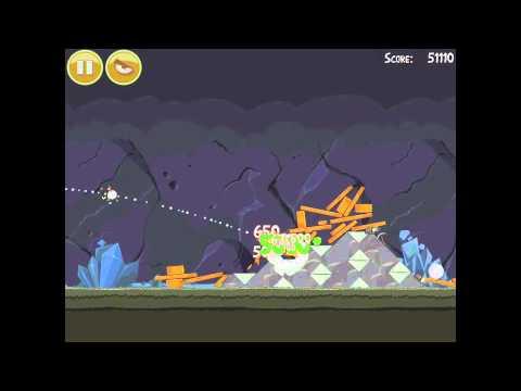 Angry Birds 17-8 Mine & Dine 3 Star Walkthrough