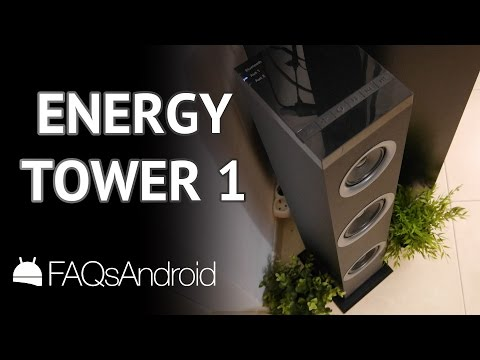 Energy Tower 1: torre de sonido bluetooth y altavoz de TV