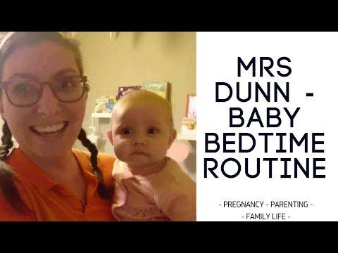 Baby Bedtime Routine - Mrs Dunn