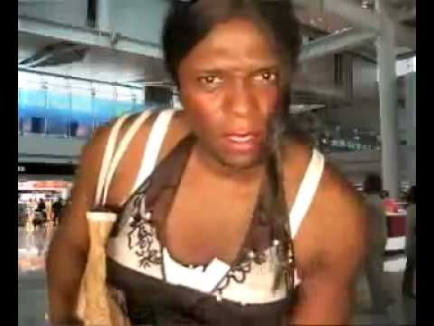 Freak Out , woman missed her flight at boarding gate HKIA,