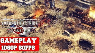 Sudden Strike 4 The Pacific War Gameplay (PC)