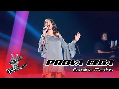 """Carolina Martins - """"Rise Up""""   Prova Cega   The Voice Portugal"""