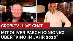 """Live Chat mit Oliver Pasch von Cinionic - """"Das Kino im Jahr 2020"""""""