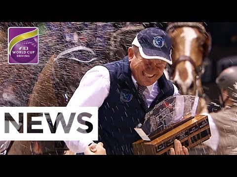 Legend Boyd Exell wins the 2018 FEI World Cup™ Driving Final | News | FEI World Cup™ Driving