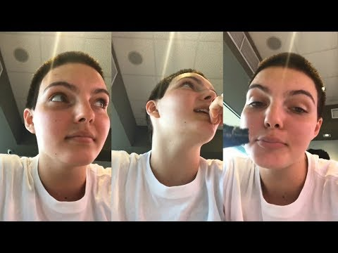 Camren Bicondova  Snapchat Story  16 April 2018